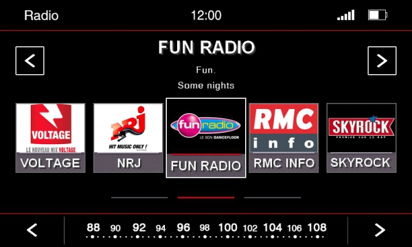 Interface Radio N6